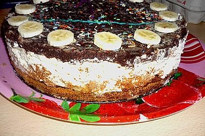 Schokoladen - Bananen Torte 70