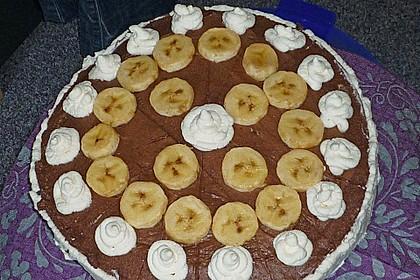 Schokoladen - Bananen Torte 68