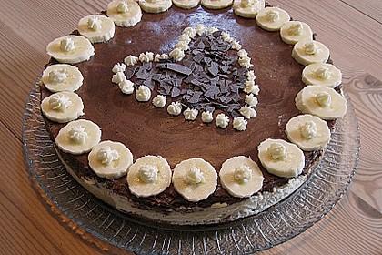 Schokoladen - Bananen Torte 18