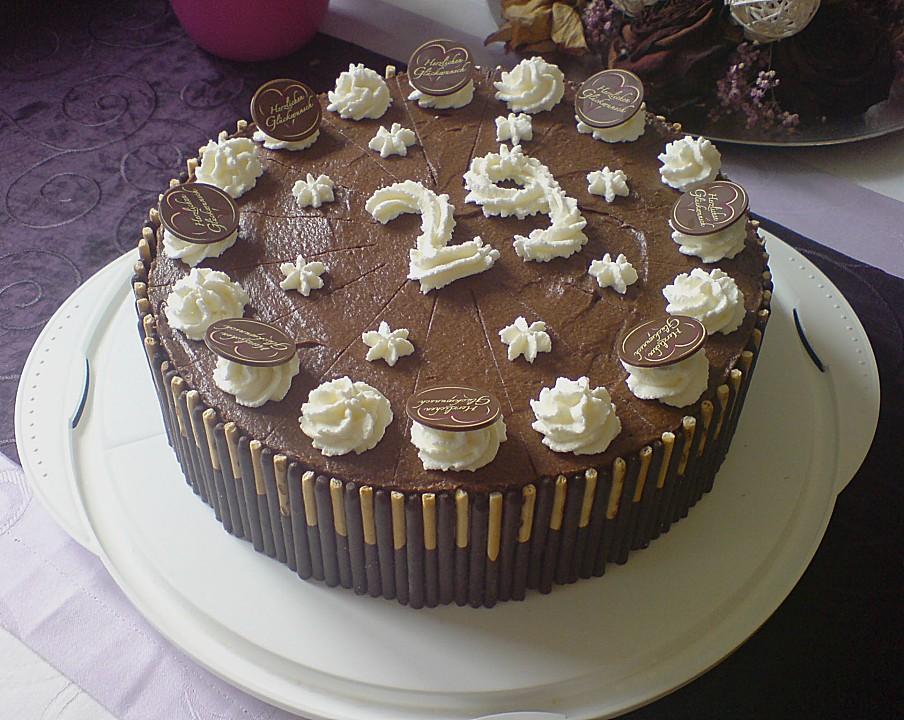 Schokoladen Bananen Torte Von Uschig Chefkoch De