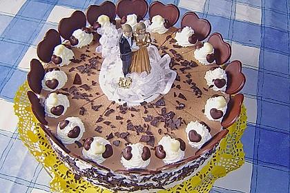 Schokoladen - Bananen Torte 3