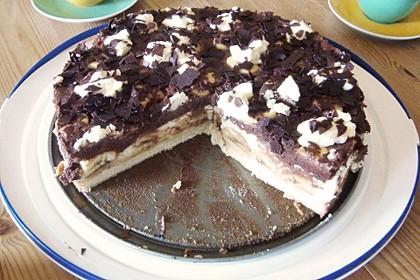 Schokoladen - Bananen Torte 31