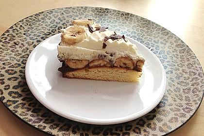 Schokoladen - Bananen Torte 27