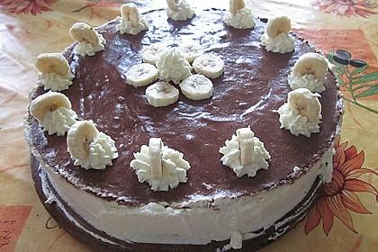 Schokoladen - Bananen Torte 24