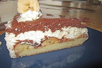 Schokoladen - Bananen Torte 57