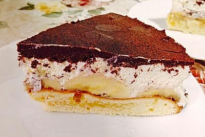Schokoladen - Bananen Torte 52