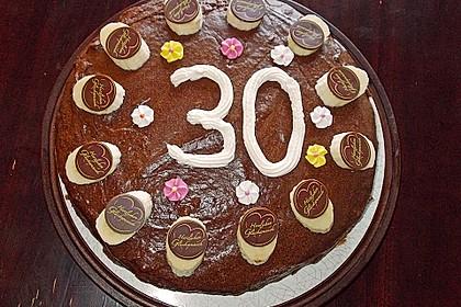 Schokoladen - Bananen Torte 36