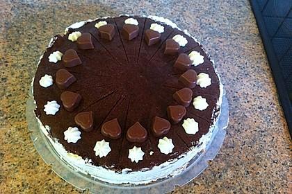 Schokoladen - Bananen Torte 38