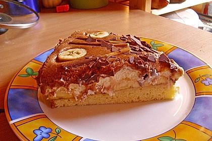 Schokoladen - Bananen Torte 63
