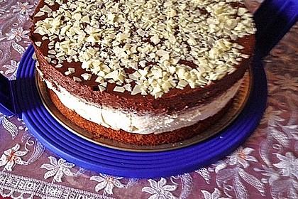 Schokoladen - Bananen Torte 53