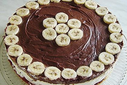 Schokoladen - Bananen Torte 39