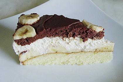 Schokoladen - Bananen Torte 64