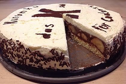Schokoladen - Bananen Torte 19