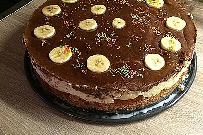 Schokoladen - Bananen Torte 34