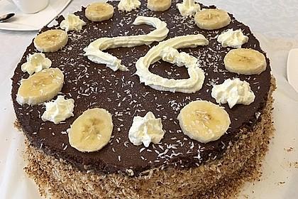 Schokoladen - Bananen Torte 28