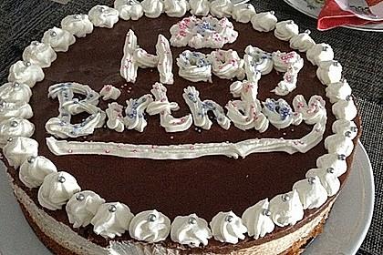 Schokoladen - Bananen Torte 35