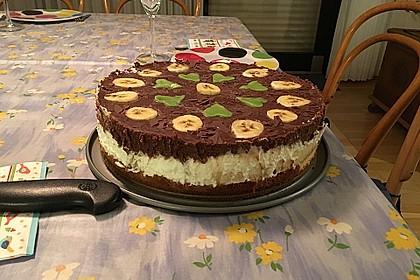 Schokoladen - Bananen Torte 30
