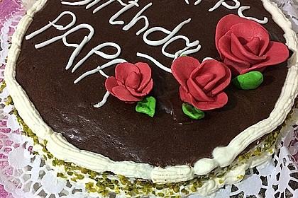 Schokoladen - Bananen Torte 11