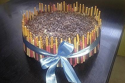 Schokoladen - Bananen Torte 67