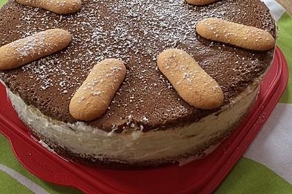 Schokoladen - Bananen Torte 43