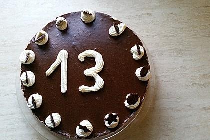 Schokoladen - Bananen Torte 8