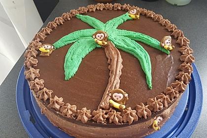 Schokoladen - Bananen Torte 5