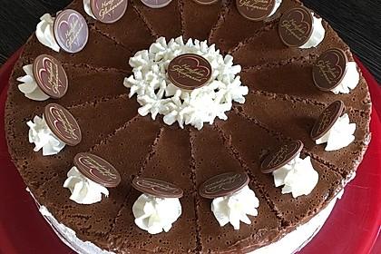 Schokoladen - Bananen Torte 2
