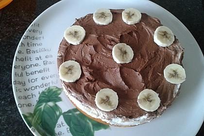 Schokoladen - Bananen Torte 59