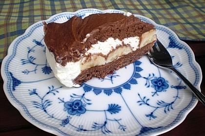 Schokoladen - Bananen Torte 15