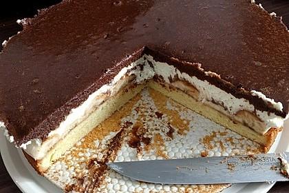 Schokoladen Bananen Torte Von Uschig Chefkoch