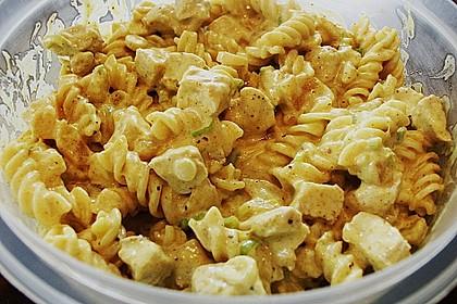 Curry - Geflügelsalat 8