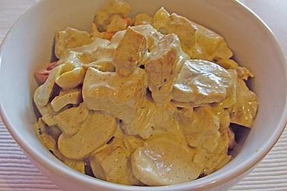 Curry - Geflügelsalat 11