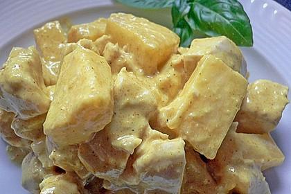 Curry - Geflügelsalat 1