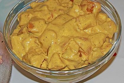 Curry - Geflügelsalat 12