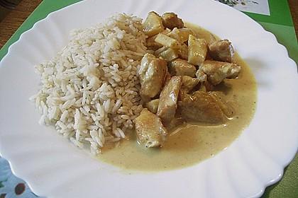 Hawaiigulasch mit Reis 1