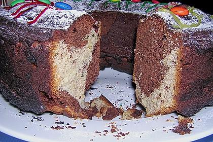 Marmorkuchen mit Marzipan 2