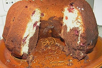 Marmorkuchen mit Marzipan 1