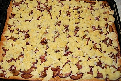 Pflaumenkuchen mit Streuseln 53