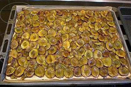 Pflaumenkuchen mit Streuseln 50