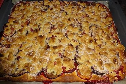 Pflaumenkuchen mit Streuseln 77