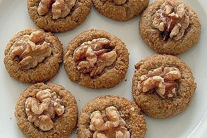 Walnuss-Cookies (Bild)