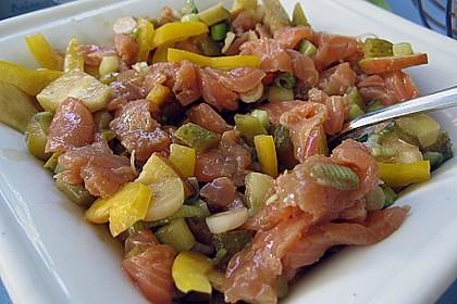 Lachs - Salat