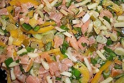 Lachs - Salat 4