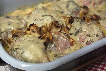 Schweinefilet in Gorgonzolasoße 10