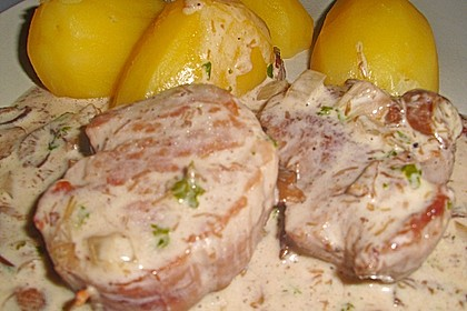 Schweinefilet in Gorgonzolasoße 12
