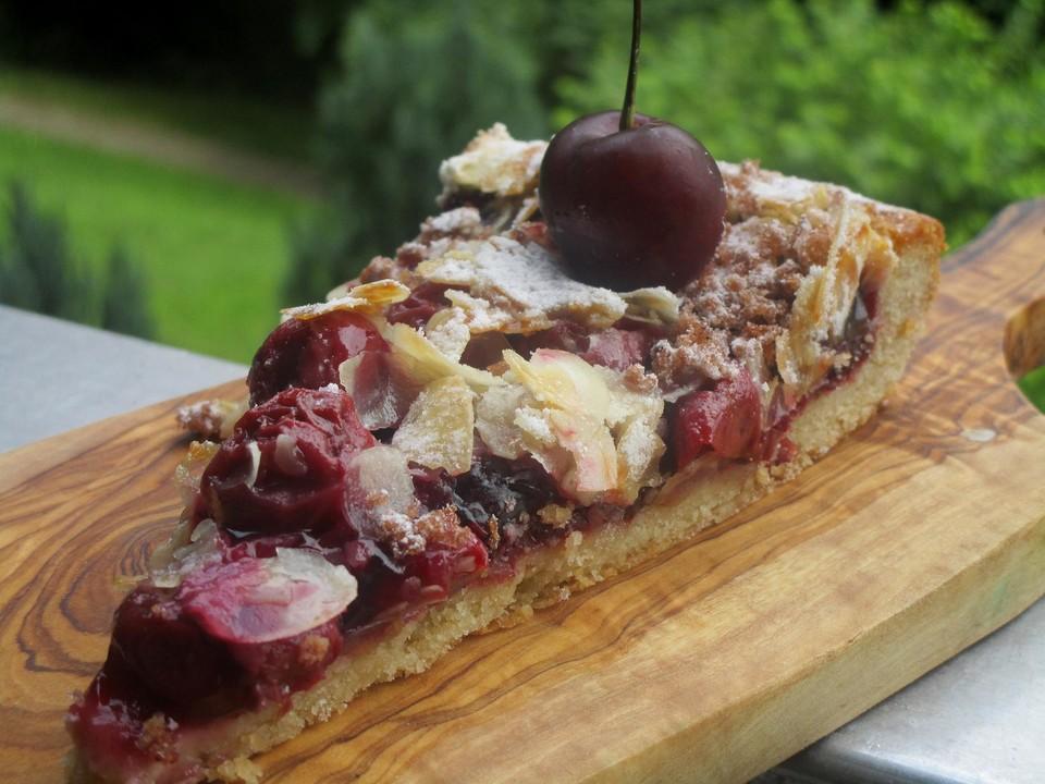 Kirsch Mandel Kuchen Von Mery Chefkoch De