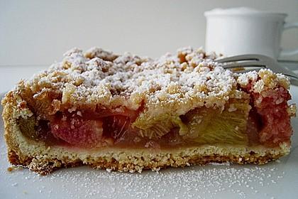 Rhabarberkuchen, sehr fein 70