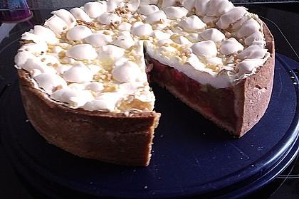 Rhabarberkuchen, sehr fein 80