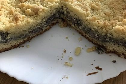 Mohnkuchen mit Quark und Streuseln 6
