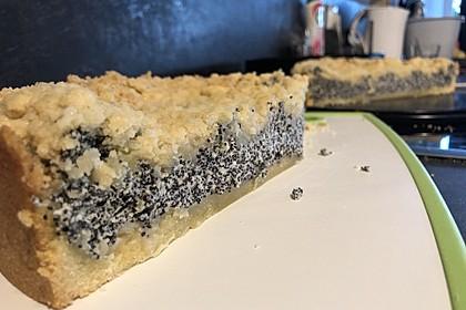 Mohnkuchen mit Quark und Streuseln 15